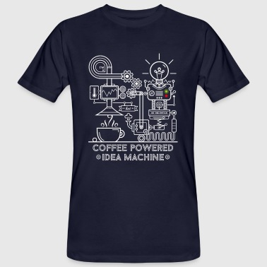 Coffee powered Idea Machine - Ekologisk T-shirt herr