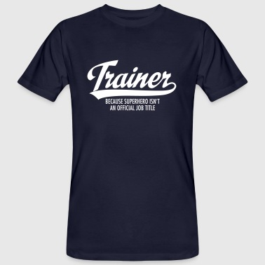 Trainer - Superhero - Men's Organic T-Shirt