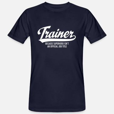 Title Trainer - Superhero - Men's Organic T-Shirt