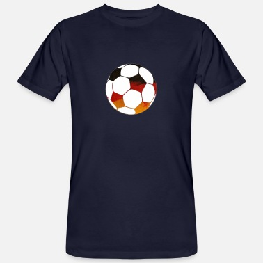 Football Fan football germany football fan - Men's Organic T-Shirt