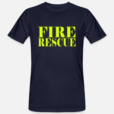 Fire Department FIRE RESCUE - Männer Bio-T-Shirt