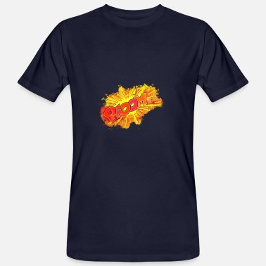 Discord Explosion noise brightly glowing - Men's Organic T-Shirt