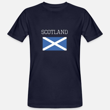 Glasgow Flag Scotland Scotland Whiskey Scottish Edinburgh - Men's Organic T-Shirt