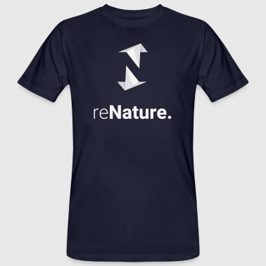 reNature T-Shirt - Mannen Bio-T-shirt