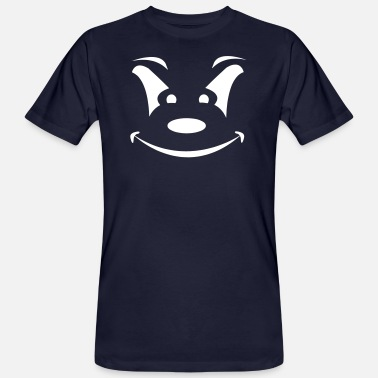Bad Clown Halloween, Bad Smile, Mad Clown - Men's Organic T-Shirt