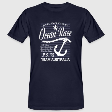 Ocean Sailing Race - Men's Organic T-shirt