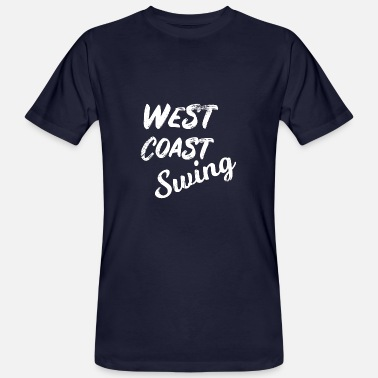 West Coast Swing Tanzen West Coast Swing Washed Out WCS - Männer Bio T-Shirt