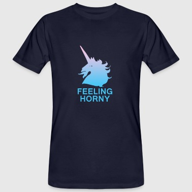 Feeling Horny - Men's Organic T-Shirt