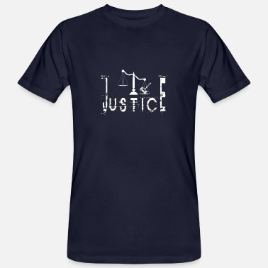 Justice JUSTICE - Men's Organic T-Shirt