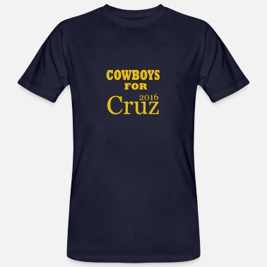 Cruz Cowboys voor Cruz - Mannen Bio-T-shirt
