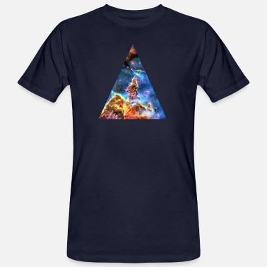 Supernova Explosion Galactic Triangle Mystic Mountain, Carina Nebula, Space, Galaxy, - Men's Organic T-Shirt