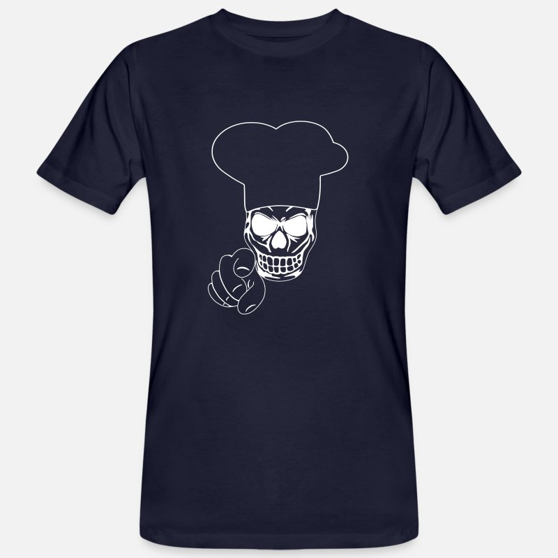 Pedir en línea Calavera Cocinero Camisetas  54d0955ec8e
