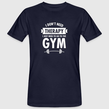 Therapy - Gym - Mannen Bio-T-shirt