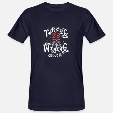 Winning Turning 28 Winning About It - Ekologisk T-shirt herr