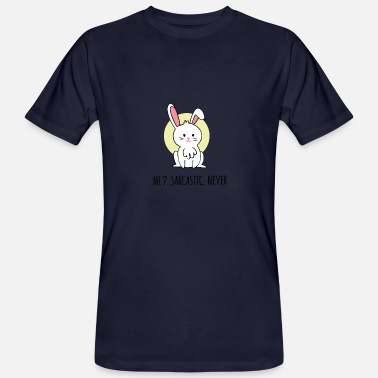 Attitude Perfect Rabbit attitude - Men's Organic T-Shirt