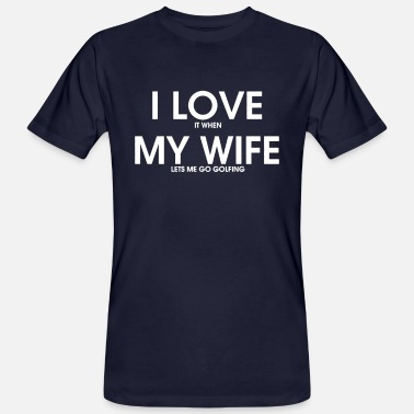 Bester Papa I Love My Wife... - Männer Bio T-Shirt