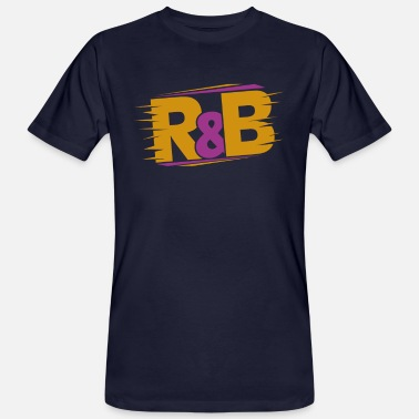 R&b R & B - Men's Organic T-Shirt