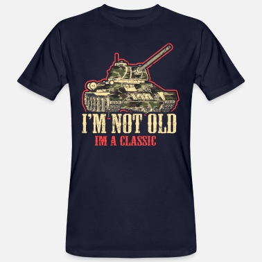Soldad Panzer WWII military ww2 gift idea - Men's Organic T-Shirt