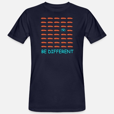 Bike Bike, be different - Männer Bio T-Shirt