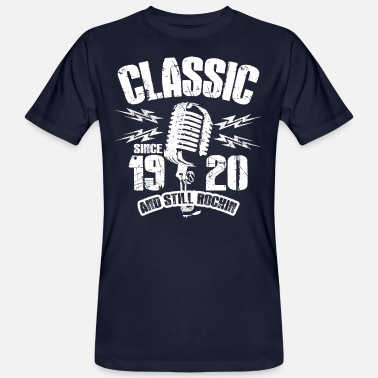 Since 1920 Classic Since 1920 And Still Rockin - Men's Organic T-Shirt