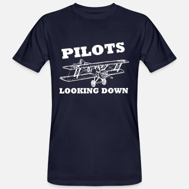 cf0283dae Funny Pilot Pilot pilot plane funny saying - Men's Organic T-Shirt