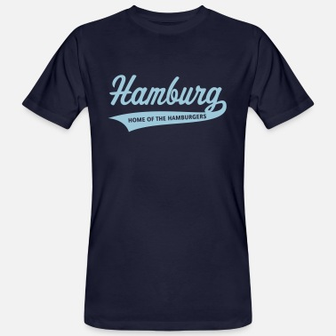 Hamburg Hamburg – Home Of The Hamburgers (Hamburger) - Men's Organic T-Shirt