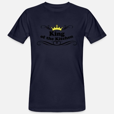 King of the Kitchen - Männer Bio T-Shirt