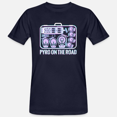 Pyro on the Road - Men's Organic T-Shirt