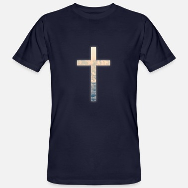 Clouds Cross sky clouds - Men's Organic T-Shirt