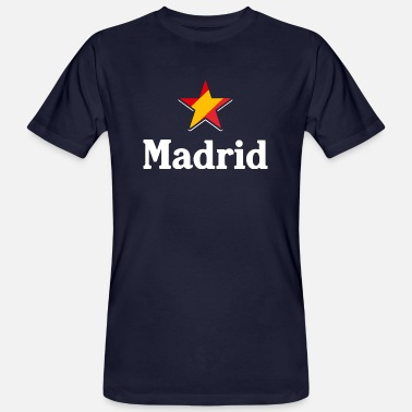 Madrid Madrid (dark) - Men's Organic T-Shirt