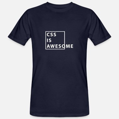 Css CSS is geweldig - Mannen bio T-shirt