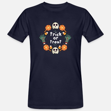 Trick Trick or Treat / Trick or Treat - Men's Organic T-Shirt