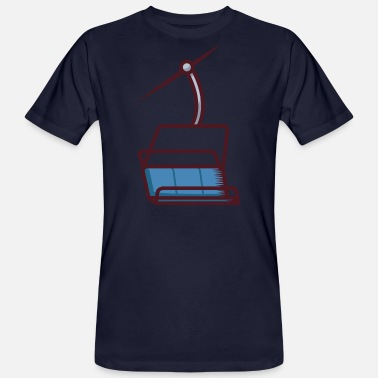 Ski Lift Ski lift - Men's Organic T-Shirt