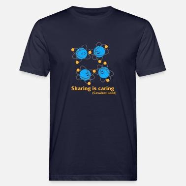 Deling er omsorg kemi kovalent bånd Premium T skjorte for