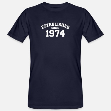 Established Established 1974 - T-shirt bio Homme