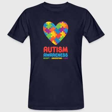 Autism Awareness - Men's Organic T-shirt