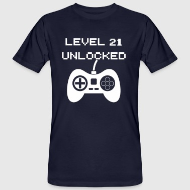 Level 21 Unlocked - Men's Organic T-shirt