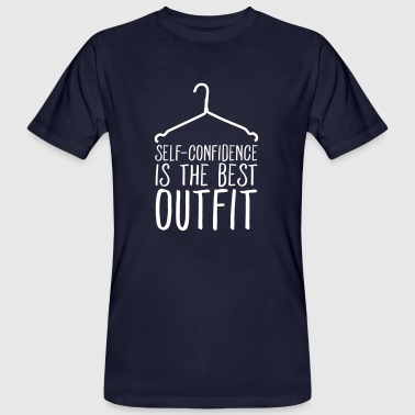Self-Confidence Is The Best Outfit - Men's Organic T-shirt