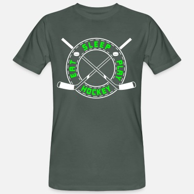 Eat Sleep Play Hockey Eat, Sleep, Play Hockey - Men's Organic T-Shirt