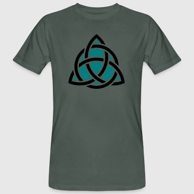 Celtic Knot, Triquetra, Patricks Day, Trinity - Men's Organic T-shirt
