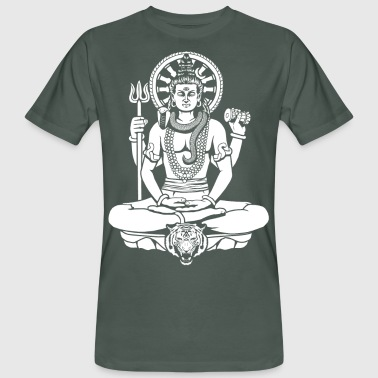 Lord Shiva - Men's Organic T-Shirt