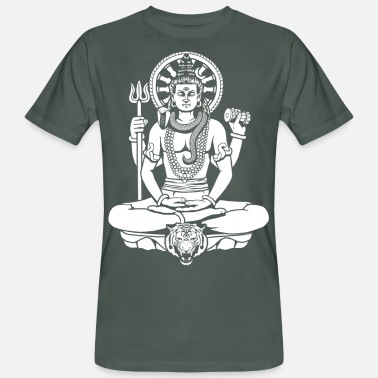 Shiva Lord Shiva - Men's Organic T-Shirt