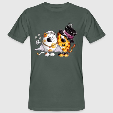 Chat mariage - T-shirt bio Homme