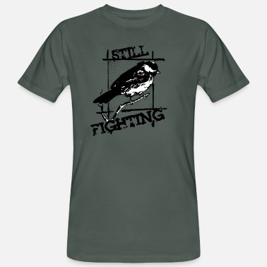Still Still Fighting - T-shirt ecologica da uomo