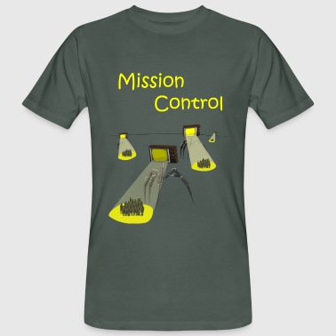 Media Invasion / Mission Control - T-shirt ecologica da uomo