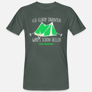 Geocaching I think it's already getting lighter - Men's Organic T-Shirt