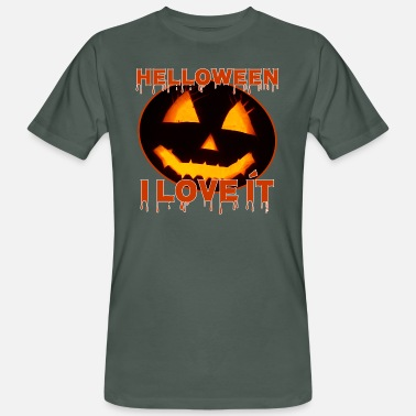 I Love It helloween i love it - Männer Bio T-Shirt