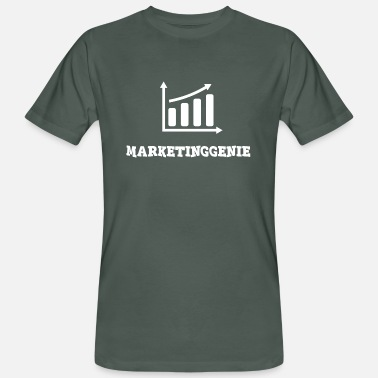 Responsable Marketing génie du marketing - T-shirt bio Homme