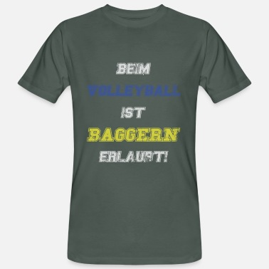 Phrases Drague Sports de drague de volleyball disant - T-shirt bio Homme