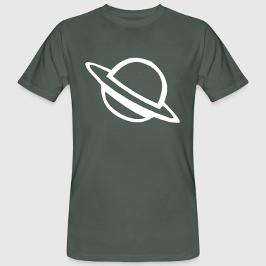 Saturn Ring Saturn - Men's Organic T-Shirt